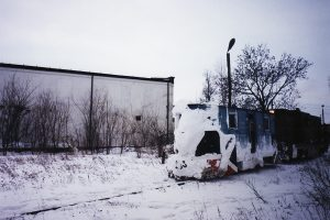Już na stacji Witkowo.
