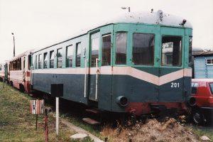 Rachela, czyli wagon motorowy typu 1Mw MBxd1-201.