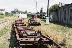 Wagony transportery Tddyyhp.