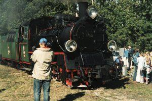 Drugi skład prowadzony parowozem Px48-1785 dotarł do Witkowa.
