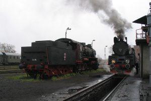 Parowozownia Wolsztyn - Ty1-76 i Ol49-69.