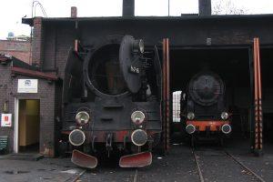 Parowozownia Wolsztyn - Pt47-65 i Ok22-31.