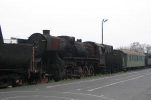 Skansen w Wolsztynie - Ty2-406, kolejny który niedawno jeździł.