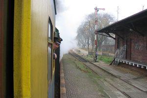 Kierownik pociągu.