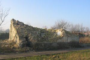 Cetty - ruina wieży wodnej.