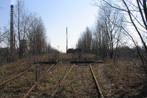 Lublin Północny - łącznica w kierunku Tatar.