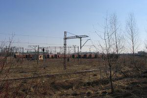 Ogromna stacja Lublin Tatary.