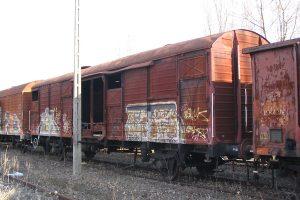 Lublin Północny - wagon 208Kd Gbs.