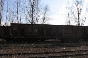 Lublin Północny - wagon 408W Eaos.