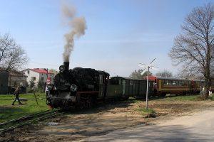 Tuz przed odjazdem do Przybrodzina.