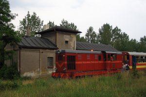 Lxd2-369 pod parowozownią w Anastazewie.