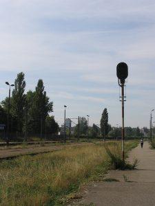 Lublin Północny - nieczynny semafor.
