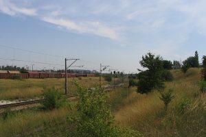 Lublin Tatary - rzędy wagonów, w większości różne typy Gbs.