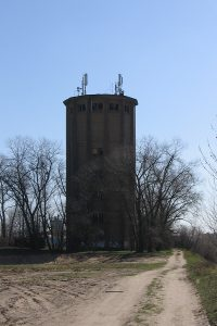 Konin - Wieża wodna.