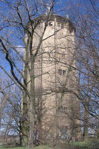 Konin - wieża wodna lokomotywowni.