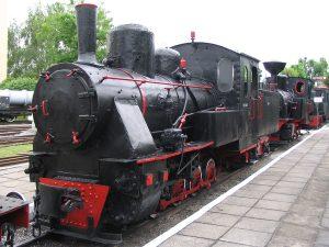 Parowóz Px6-1645.