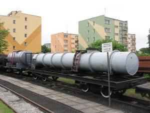 Wagony cysterny wąskotorowe.