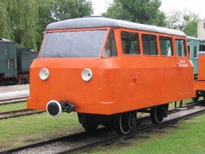 Drezyna motorowa DKp101 z Przeworskiej Kolei Dojazdowej.