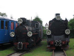 Parowozy Kp4-3760 z Cukrowni Dobre i Px48-1739.