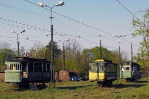 Wagony historyczne KMST.