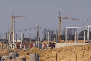 Budowa Ikei.
