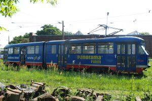 Zajezdnia Brus - wagon Tramwajów Podmiejskich #3.