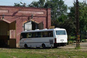 Zajezdnia Brus - autobus Tramwajów Podmiejskich - Solbus.