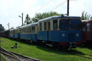 Wagon motorowy MBd1-130.
