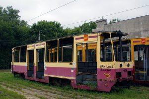 Zdemontowany wagon #2391.