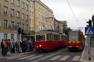 Ostatni przystanek wycieczki - Narutowicza przy Tramwajowej.