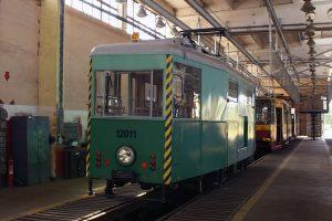 Techniczny wagon 2N #12011.