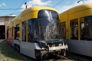 Rozbity wagon #1202.