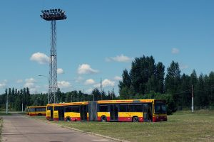 Odstawiony autobus Volbo B10LA #3048.