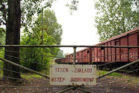 Wycieczka do Konina – wagonownia i cmentarzysko kolejowe.