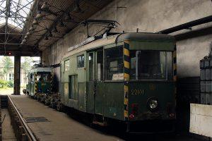 Wagony techniczne generacji N #22101 i #22107.