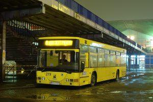 Katowice Dworzec PKP - Jelcz M125 #219.