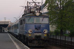 Łódź Fabryczna - EP07-411.