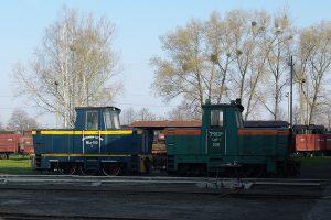 Rogów Wąskotorowy Towarowy - Wls150-5 i Lyd1-205.