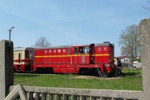 Rawa Mazowiecka - pociąg do Białej Rawskiej.