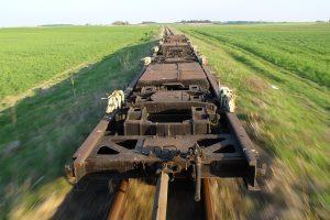 Transportery w drodze do Rogowa.