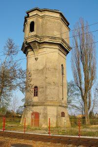 Rogów - wieża wodna.