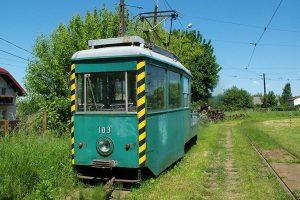 Brus - techniczny wagon N #103.