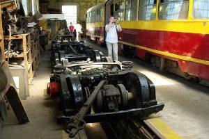 Brus - wózki do wagonu GT6 #42.