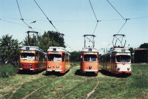 Wszystkie imprezowe wagony na Brusie.