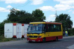 Kusocińskiego - Jelcz 081.