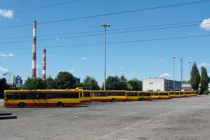 Zajezdnia Limanowskiego - Volva B10L.