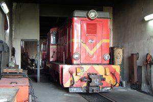 Szykowana do obsługi drugiego pociągu Lxd2-343.