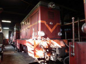 Druga rumuńska lokomotywa pochodząca z Sompolna - Lxd2-344.