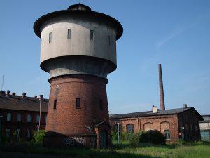 Wieża wodna parowozowni Gniezno.