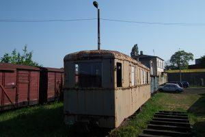 Wagon salonka, dawny wagon  motorowy.